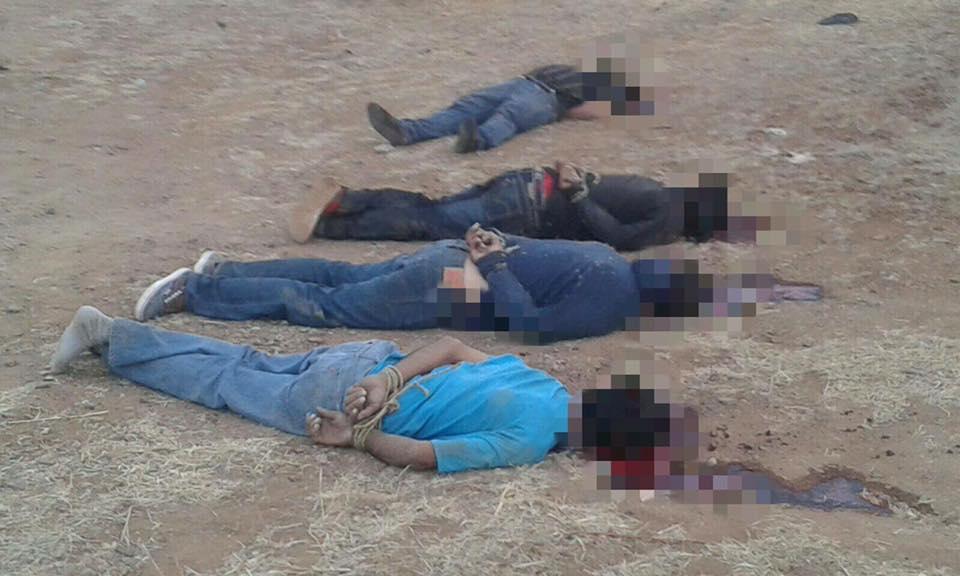 Identifican a los ejecutados del ejido Rubén Jaramillo